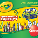 MELT'N MOLD FACTORY - MARKER AIRBRUSH (Family Channel / Disney Junior / Crayola)